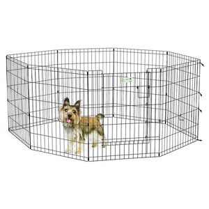 Midwest Life Stages Pet Exercise Pen with 8 Door Panels 24x30cm