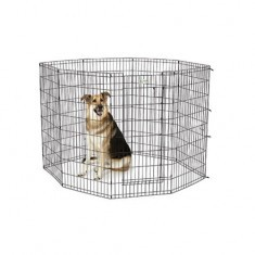 Midwest Life Stages Exercise Pen with 8 Door Panels 61x122cm