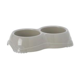 Moderna Smarty Large Beige Dual Pet Bowl BPA free 2x645ml