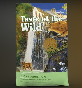 Taste of the Wild Rocky Mountain Dry Cat Food with Roasted Venison & Smoked Salmon 6.35kg