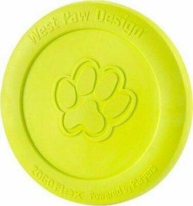 West Paw Zogoflex Zisc Small Green Flying Disc Dog Toy 1pc