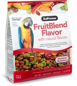 Zupreem Fruitblend Bird Food for Large Birds Fruit Flavor 907g