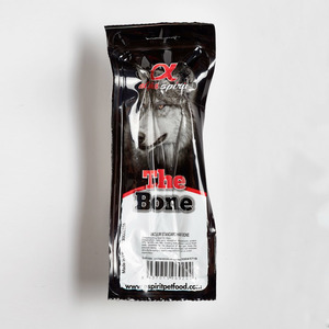 Alpha Spirit Standard Bone Dog Treats with Ham 1pc