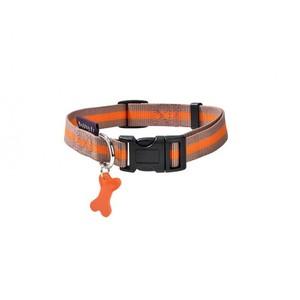 Bobby Small Orange & Beige Dog Collar 1pc