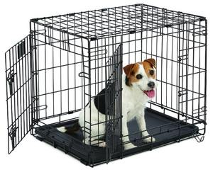 Midwest Contour Small Two Door Folding Pet Crate 63.5x46.3x49.2cm