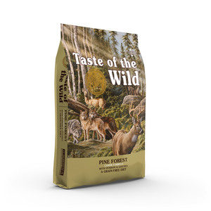 Taste of the Wild Dry Dog Food Pine Forest Canine Formula with Venison & Legumes 2kg
