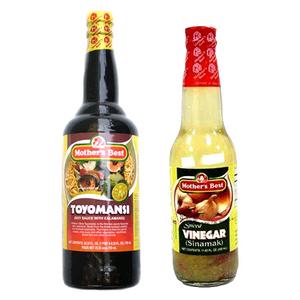Mothers Best Soy Sauce +Vinegar 1L+1L