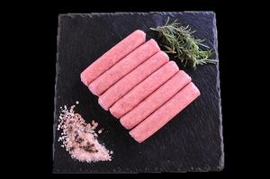 New Zealand Grass Fed Lamb & Rosemary Sausages 80g
