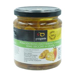 Cosi Come Semi Dried Yellow Datterini Tomatoes In Oil 180g
