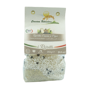 Cascina Belvedere Cheese And Pepper Risotto 250g