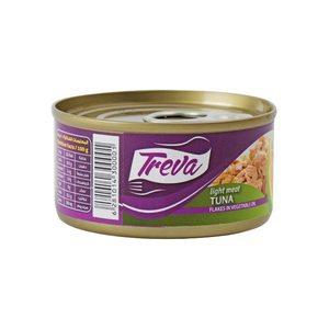 Treva Light Meat Tuna In Vegetable Oil 170g