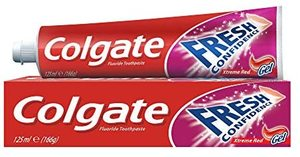 Colgate Toothpaste Confidence Red 4x125ml
