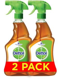 Dettol Antibacterial Surface Disinfectant Trigger Spray 2x500ml