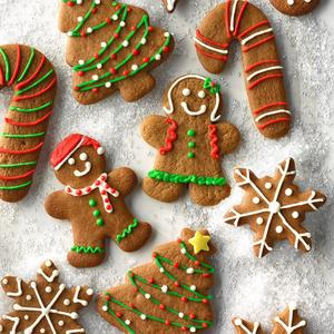 Cookies Ginger Xmas Assorted 1kg