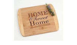 Sweet Home Cutting Board Heavy White 1pc