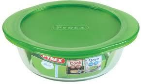 Pyrex Round Dish With Lid 1pc