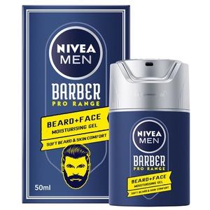 Nivea Men Barber Pro Range Beard & Face Moisturizing Gel 50ml