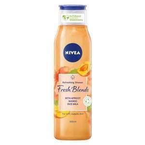 Nivea Fresh Blends Refreshing Shower Gel Apricot Mango Rice Milk 300ml