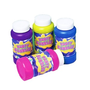 Fun Party Bubble Bottles 4s