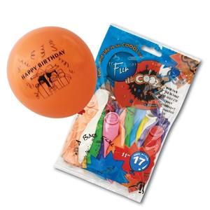 Fun 11 Happy Birthday Balloons 17s