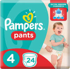Pampers Pants Size 4 Maxi 9-14 kg 11s