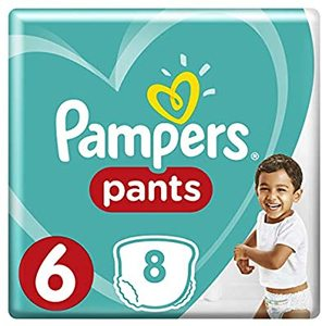 Pampers Pants Size 6 Extra Large 16+ kg 8s