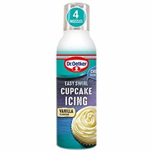 Dr. Oetker Easy Swirl Cup Cake Icing Vanilla 180g