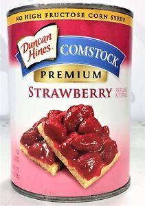 Comstock Strawberry Pie Filling 21oz