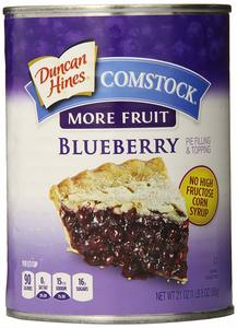 Comstock Pie Filling Blueberry 21oz