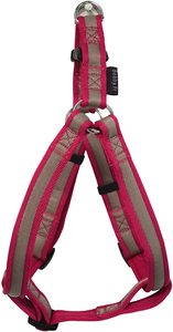 Bobby Arlequin Red Nylon Dog Harness Large 55-88cm