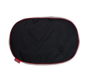 Bobby Black & Gray Pet Cushion Bed 76x50x9cm