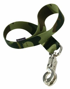 Bobby Camouflage Khaki Nylon Dog Leash Medium 113x1.6cm
