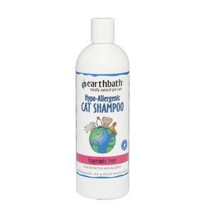 Earthbath Hypoallergenic Cat Shampoo For Sensitive Skin 472ml