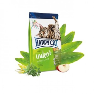 Happy Cat Odorless Dry Food With Lamb For Indoor Adult Cats 4kg