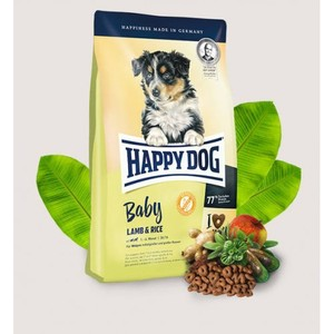 Happy Dog Baby Dry Dog Food With Lamb & Rice For Puppies 4kg