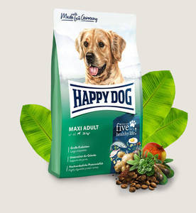 Happy Dog Dry Food For Adult Dogs Maxi Breeds 4kg