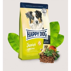 Happy Dog Dry Food With Lamb & Rice For Junior Dogs 4kg