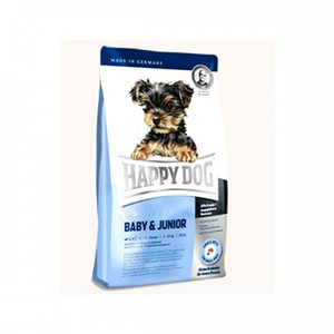 Happy Dog Mini Baby & Junior Dry Dog Food For Small Breed Puppies 4kg