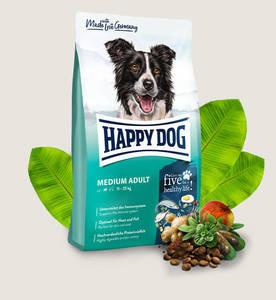 Happy Dog Supreme Fit & Well Medium Adult Dog Food 4kg