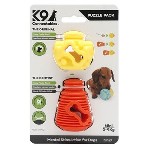 K9 Connectables - Mini Puzzle Pack Orange/Yelllow 1pack