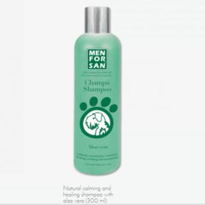 Men For San Natural Calming & Healing Shampoo With Alove Vera For Dog 300ml