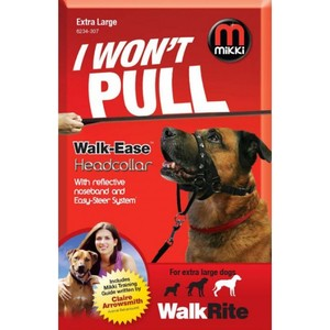 Mikki Walk Rite Head Collar With Reflective Noseband & Easy-Steer System For Extra Large Dogs 24-28.5cm