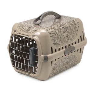 Moderna Trendy Runner Wildlife Beige Pet Carrier Crate 49.4x32.2x30.4cm
