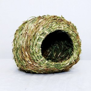 Straw House For Small Birds 1pc
