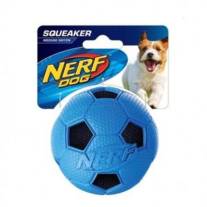 Soccer Crunch Squeak Ball Medium 1pc