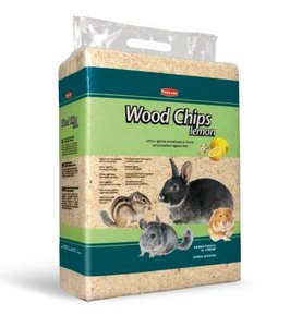 Padovan Hygienic Wood Chip Litter Lemon Scent For Rodents 4kg