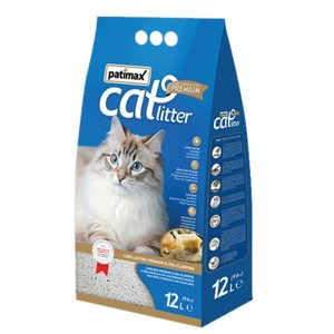 Patimax Antibacterial Ultra Clumping Cat Litter Soap Scent 9.6kg