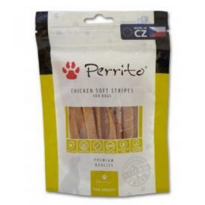Perrito Chicken Soft Strips For Dogs 100g