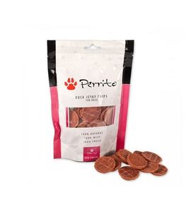 Perrito 100% Natural Duck Breast Chips For Dogs 100g