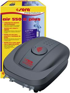 Sera Precision Air Pump 550R Plus For Aquariums & Garden Ponds 8W - 550L/H